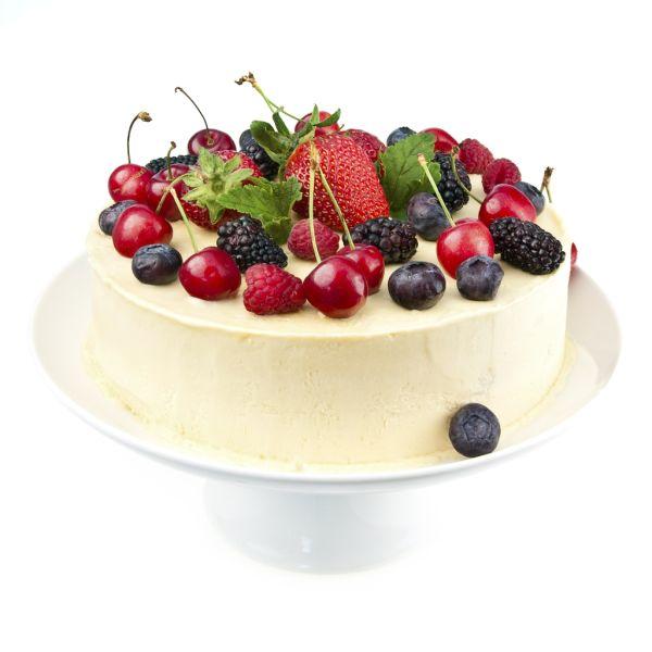 Luxusná torta s bielou čokoládou |