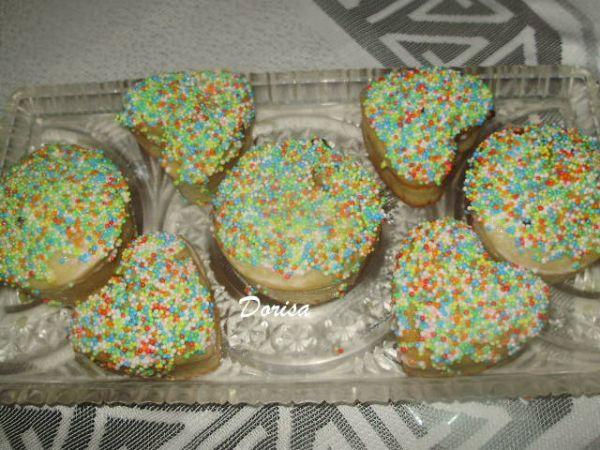 Srdiečkové muffiny s prekvapením |