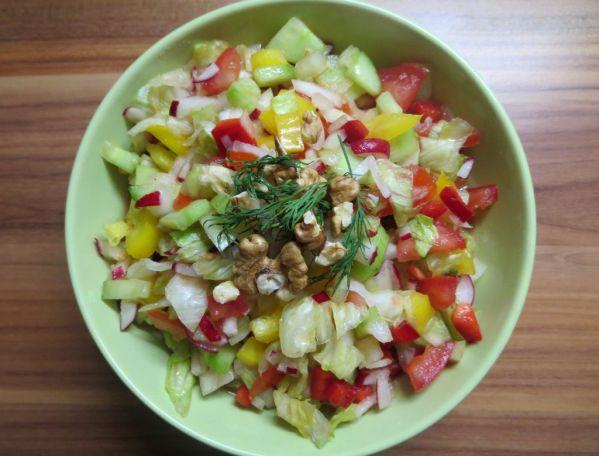 Zeleninový mix s tajomnou zálievkou |