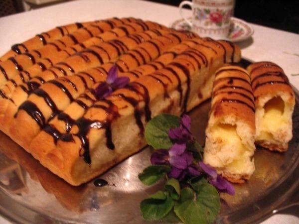 Kysnuté vanilkové roládky  