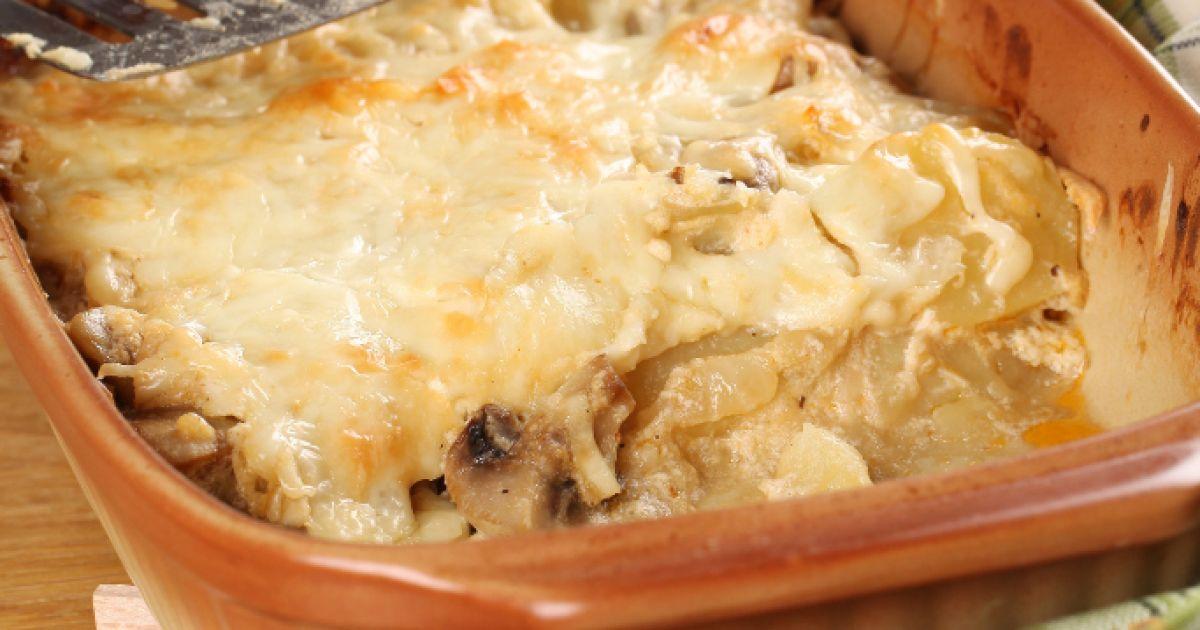 Francúzske zemiaky s hubami, fotogaléria 2 / 1.