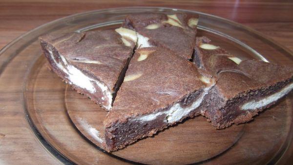 Kakaový tofu koláč |