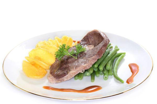 Baranie mäso so zelenou fazuľkou |