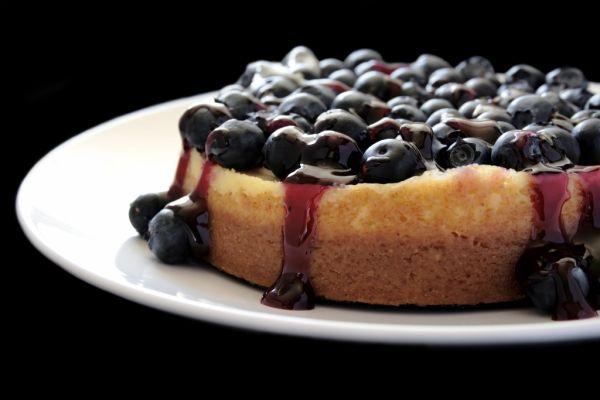 Čučoriedkový cheesecake s ricottou |