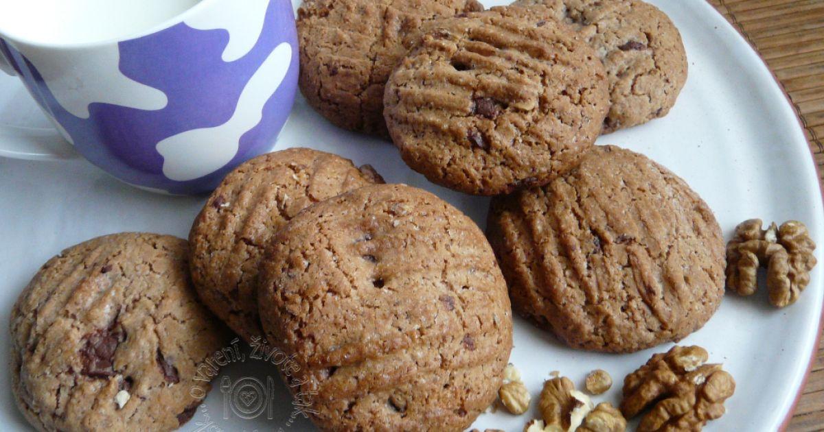 Špaldové cookies s kúskami čokolády, fotogaléria 1 / 6.