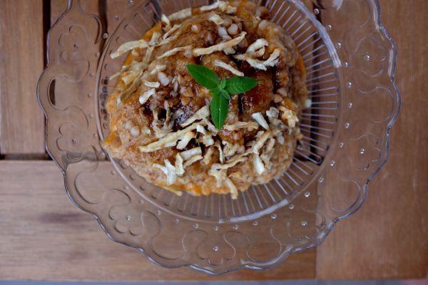 Pohánková kaša so sušeným topinaburom |