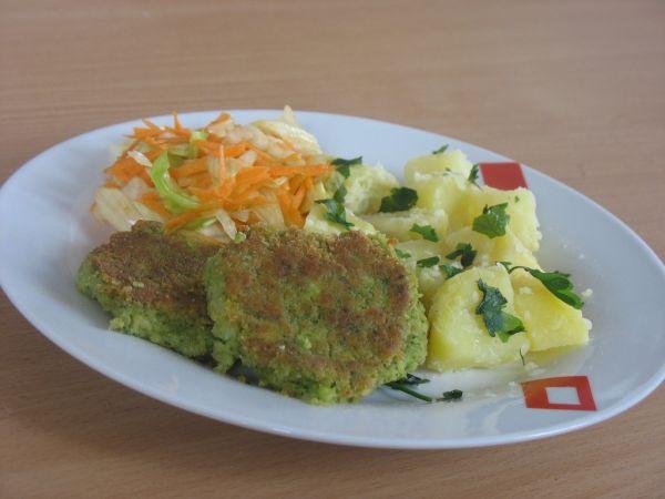Brokolicové fašírky so syrom |