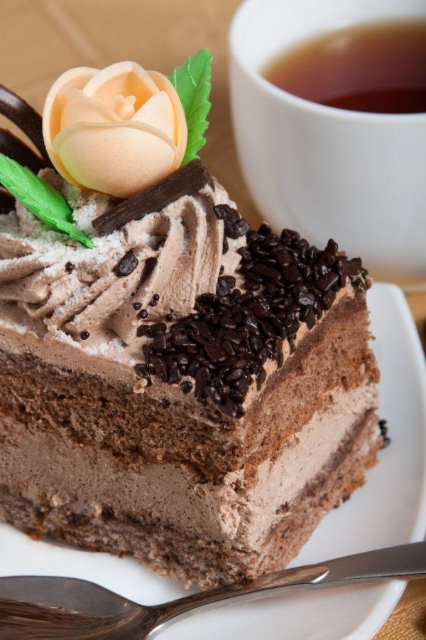 Orechovo  kakaové rezy |
