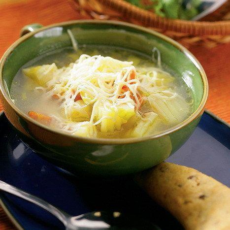 Alpská zemiaková polievka |