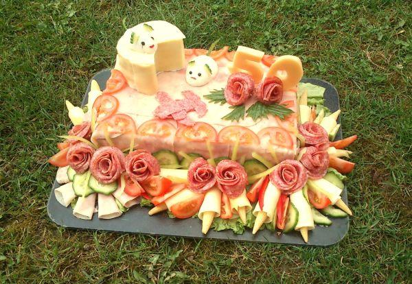 Slávnostná slaná torta |