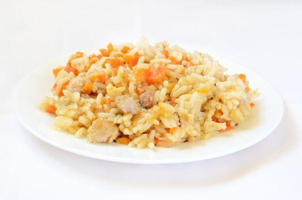 Mäsové rizoto s mrkvou |