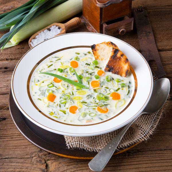 Zeleninová polievka so syrom |