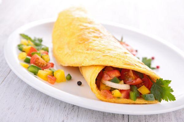 Omeleta so zeleninou |