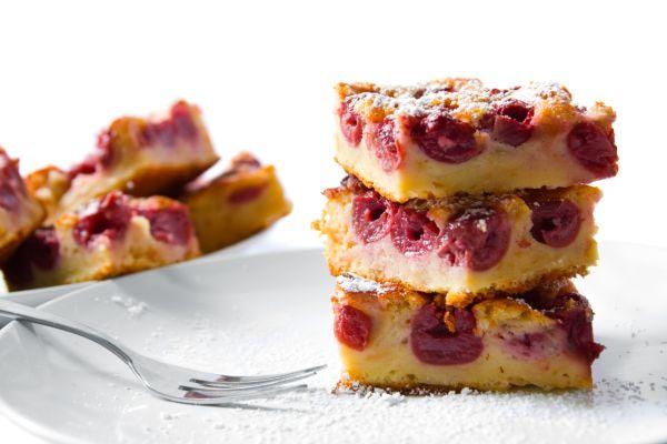 Čerešňový koláč zo špaldovej múky |