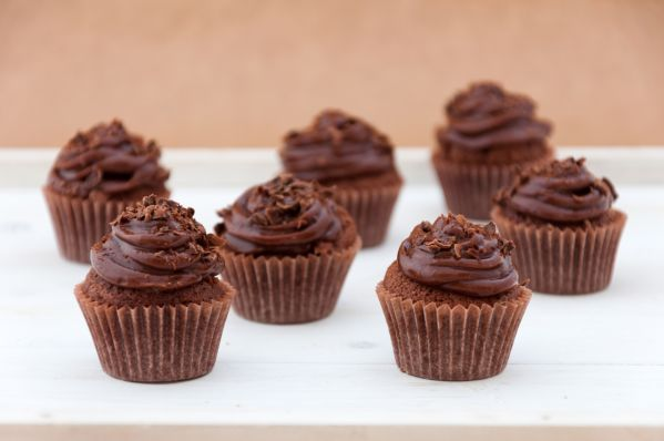 Cupcakes s Toblerone čokoládou |