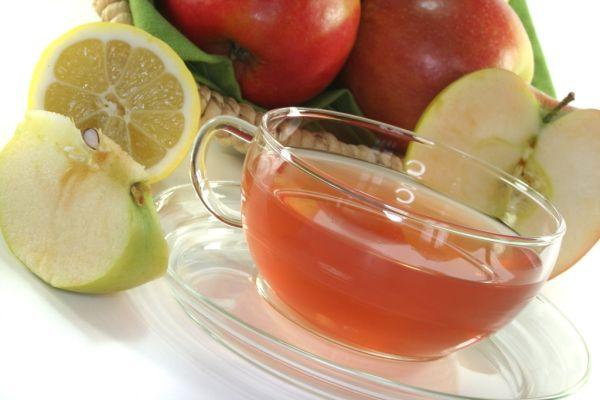 Domáci jablkový čaj |