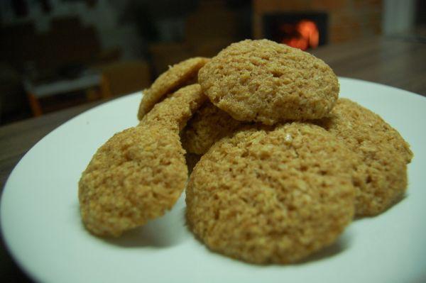 Kokosovo-citrónové špaldové sušienky |