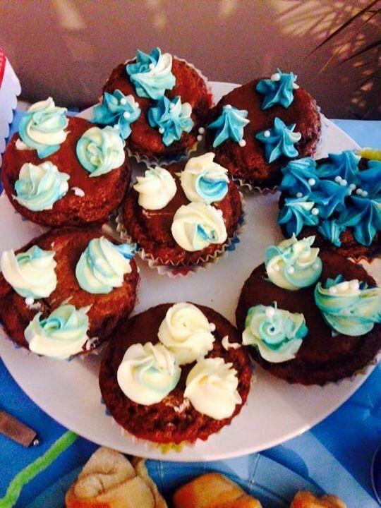 Jednoduché čokoládové cupcakes |