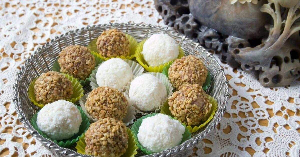 Farebné kokosové guľky, fotogaléria 1 / 1.