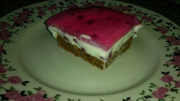 Ríbezľový letný koláč. |