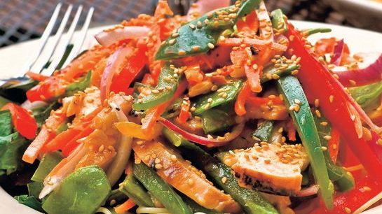 Čínsky zeleninový šalát |