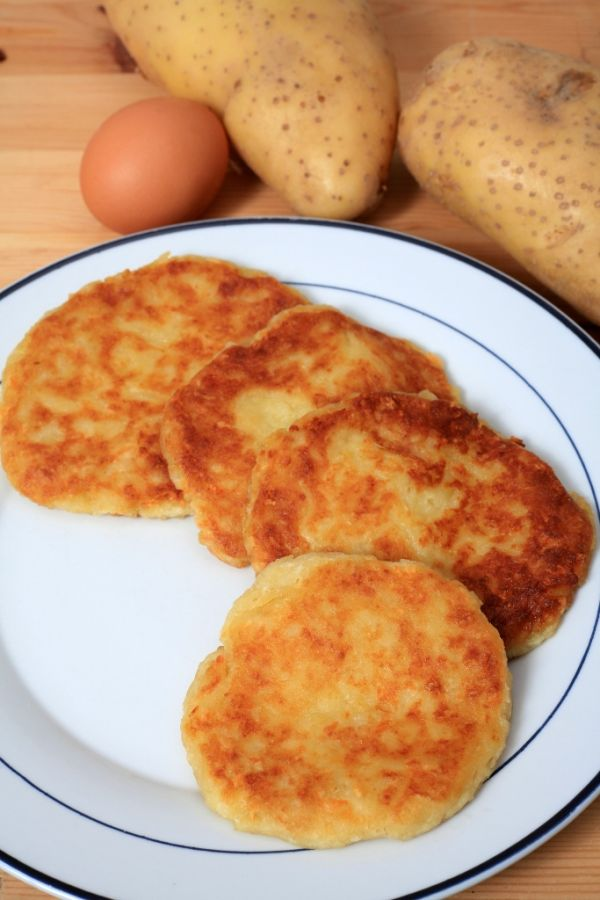 Vyprážané zemiakové placky  