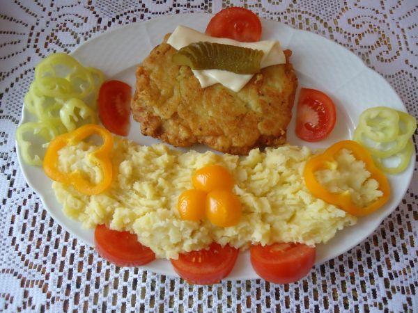 Černohorský rezeň so syrom |