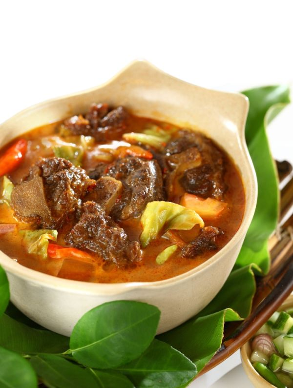 Pikantná polievka s jahňacinou |