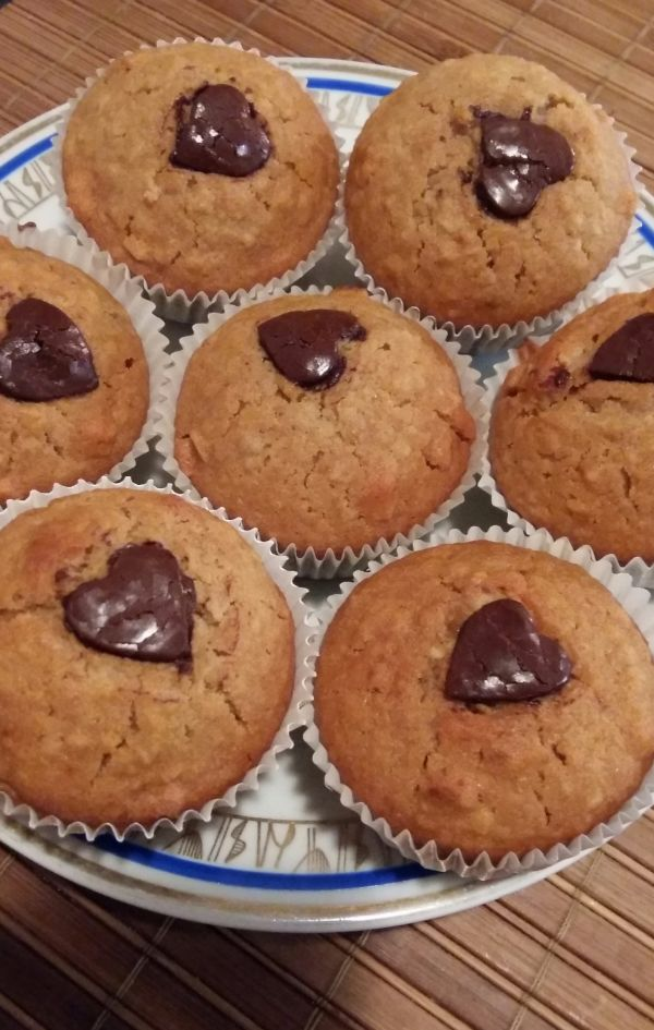 Valentínske muffiny |