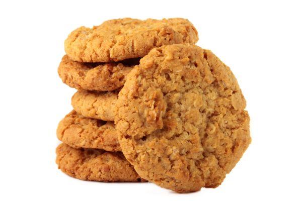 Tradičné austrálske sušienky  Anzac |