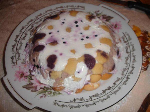 Nepečená ovocná torta |