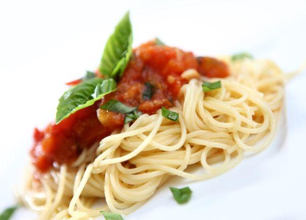 Špagety s mangoldom pre diabetikov |