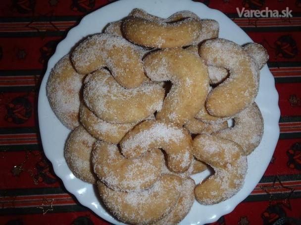Vanilkové dia rohlíčky  Recept