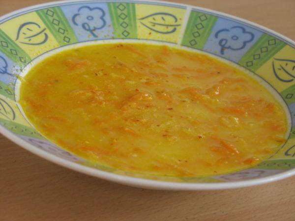Zelerovo-mrkvová polievka |