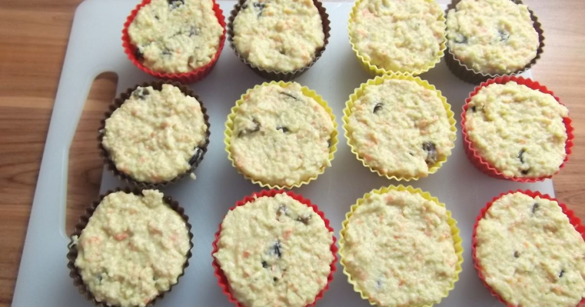 Obrátené pšenové muffiny bez cukru, fotogaléria 11 / 13.