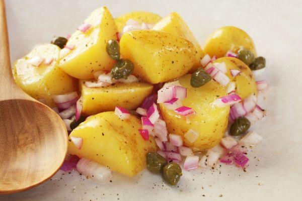 Gruzínsky zemiakový šalát |