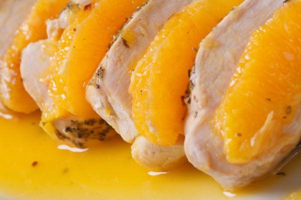 Grilované kuracie prsia so salsou z čerstvých pomarančov ...