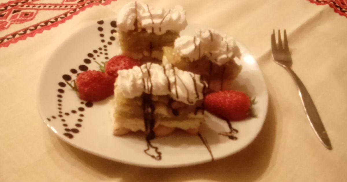 Nepečený jablkový koláč, fotogaléria 1 / 6.