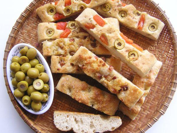 Focaccia  talianska chlebová placka |