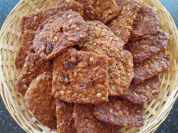 Škoricové sušienky s ovsenými vločkami bez váženia ...