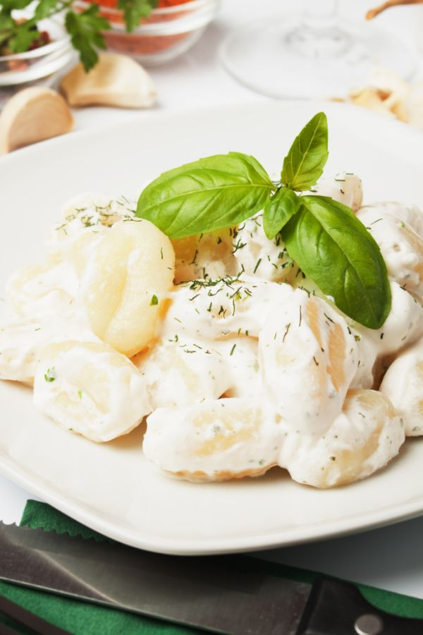 Domáce gnocchi so syrovou omáčkou |