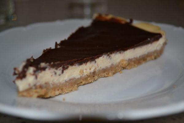 Cheesecake s tvarohom a Bebe keksami |