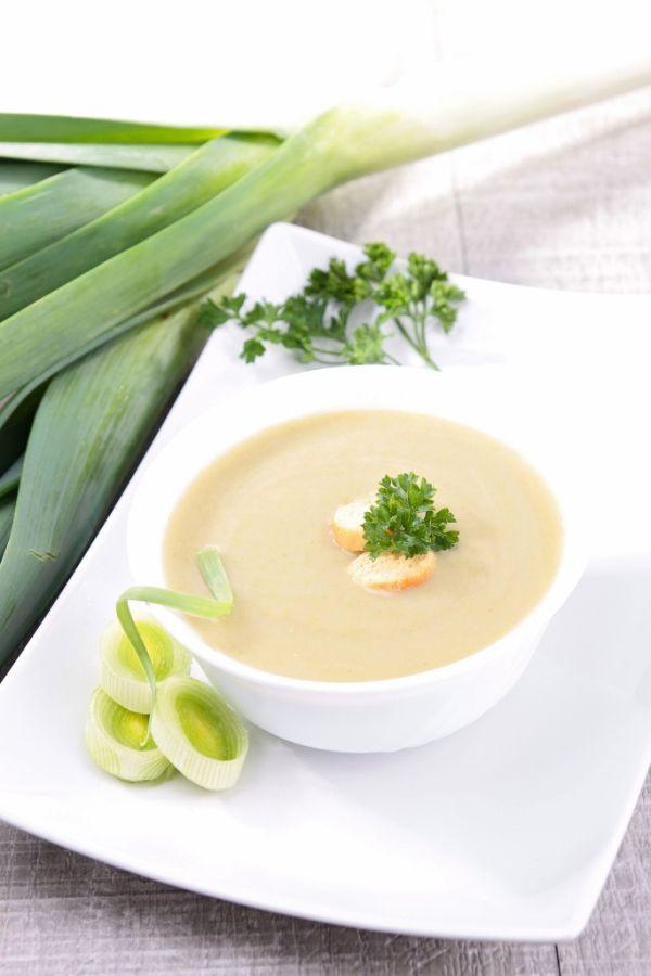 Zelerovo-pórová polievka |