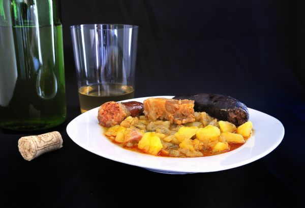 Šošovicová polievka s kapustou |