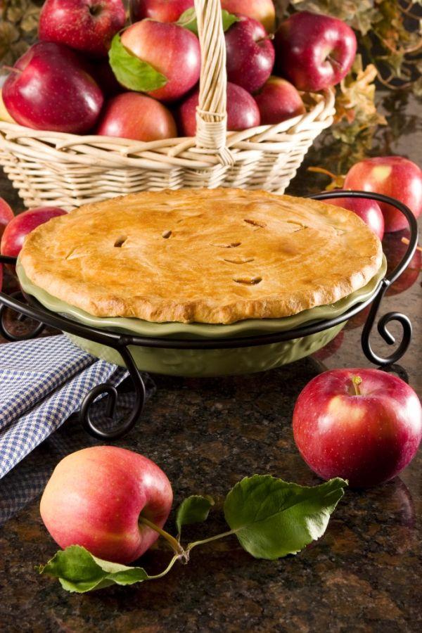 Tradičný jablkový koláč |
