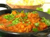 Indická kuchyňa  kura vindaloo