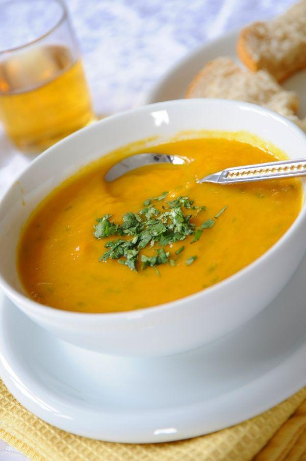 Mrkvová polievka pre zdravé oči |