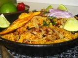 Indická kuchyňa  kuracie Biryani