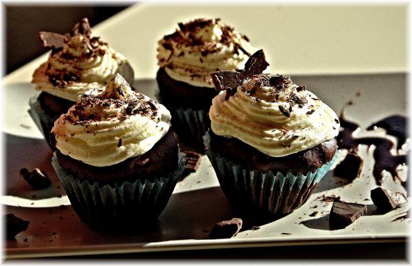 Čokoladové cup cakes |