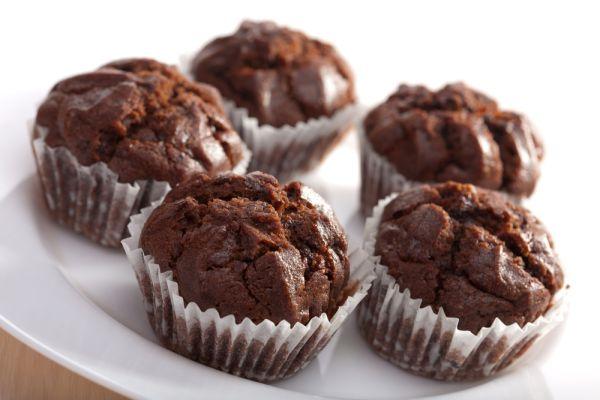 Čokoládové muffiny |